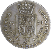 ⅙ thaler George III – avers