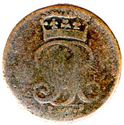 1 Pfenning - George II August – avers