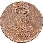 1 Pfenning - George III – avers