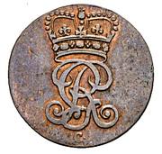 1½ Pfenning - George III – avers