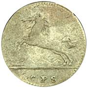 1/24 Taler - George II August – avers