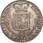 24 mariengroschen / ⅔ thaler - George III – avers