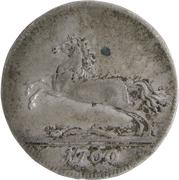 1/24 thaler George III – avers