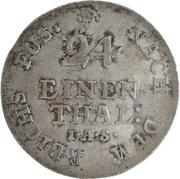 1/24 thaler George III – revers