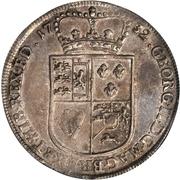 1 thaler Georg II August – avers