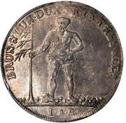 1 thaler Georg II August – revers