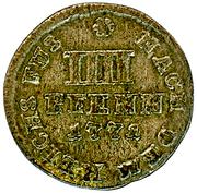 4 pfennig George III. – revers