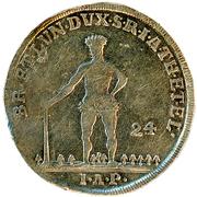 24 mariengroschen George III – revers