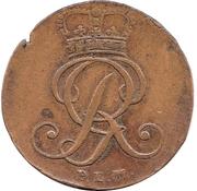 4 Pfenning - George III – avers