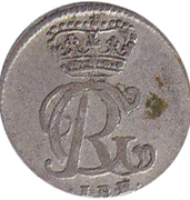 1 mariengroschen Georg August II – avers