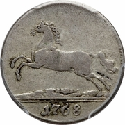1/12 Thaler - George III – avers