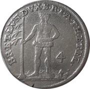 4 Mariengroschen - George II August – revers