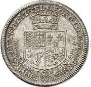 ⅔ thaler Georg II August – avers