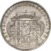 1 thaler Georg I Ludwig – revers