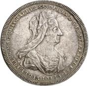 1 thaler Georg I Ludwig (Mort de Sophia du Palatinat) – avers