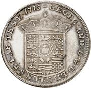 1 thaler Georg I Ludwig – avers