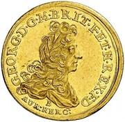 1 ducat Georg Ludwig – avers