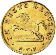 1 ducat Georg Ludwig – revers