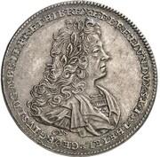 1 thaler Georg I Ludwig (Mort de Georg I Ludwig) – avers