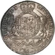 1 thaler Georg II – avers