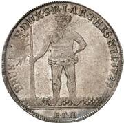 1 thaler Georg II – revers