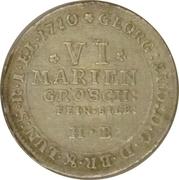 6 mariengroschen Georg Ludwig – avers