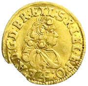 ¼ ducat Ernst August – avers