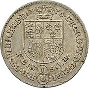 ⅙ Thaler - George III – avers