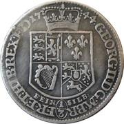 ⅓ thaler Georg II – avers