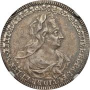 ½ Taler - Georg I. Ludwig (Mort de Sophia von der Pfalz) – avers