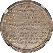 ½ Taler - Georg I. Ludwig (Mort de Sophia von der Pfalz) – revers