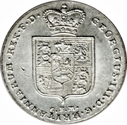 ⅔ Reichsthaler - George III – avers