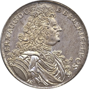 ⅔ Thaler, 1 Gulden - Ernst August – avers