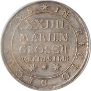 24 Mariengroschen - George I – revers