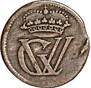 1 Pfenning - Georg II Wilhelm – avers