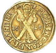 1 ducat Christian – revers