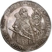 3 thaler Christian Bischof von Minden – avers