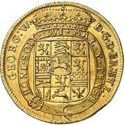 2 ducats Georg Wilhelm – avers