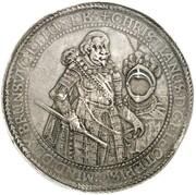 10 thaler Christian de Minden – avers