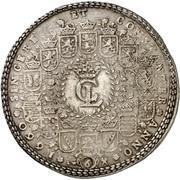 6 thaler Christian Ludwig – avers