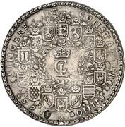 5 thaler Christian Ludwig – avers