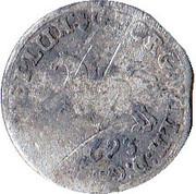 1/24 thaler Georg II Wilhelm – avers