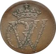 1½ pfennig Georg II Wilhelm – avers