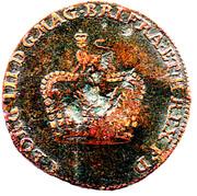 George III Token (Brunswick-Luneburg) – avers