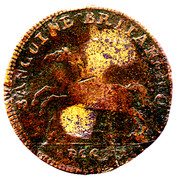 George III Token (Brunswick-Luneburg) – revers