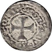1 Wittenpfennig - Heinrich IV. – revers