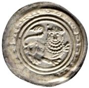 1 Brakteat - Heinrich der Löwe – revers