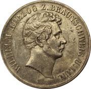 2 Thaler / 3½ Gulden - Wilhelm – avers