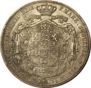 2 Thaler / 3½ Gulden - Wilhelm – revers