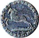 1 pfennig Karl II – avers